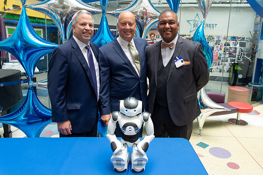 Press Release American Heritage Donates Interactive Robot to CHOP